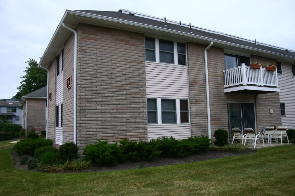 Exterior of apartment homes at The Heights at Spring Lake in Spring Lake, New Jersey