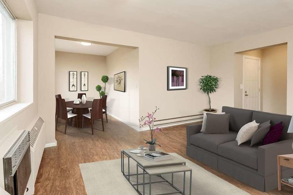 Spacious floor plans at Manlius Academy in Manlius
