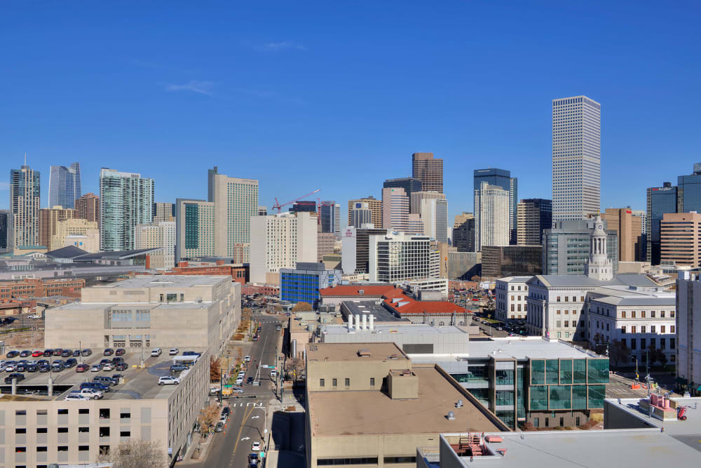 Link to neighborhood info for Civic Lofts in Denver, Colorado
