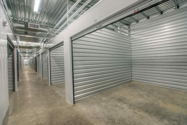 Air-conditioned units available at StorQuest Self Storage in Clearwater, Florida