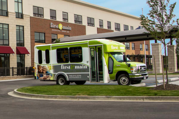 Transportation services available at First & Main of Lewis Center in Lewis Center, Ohio
