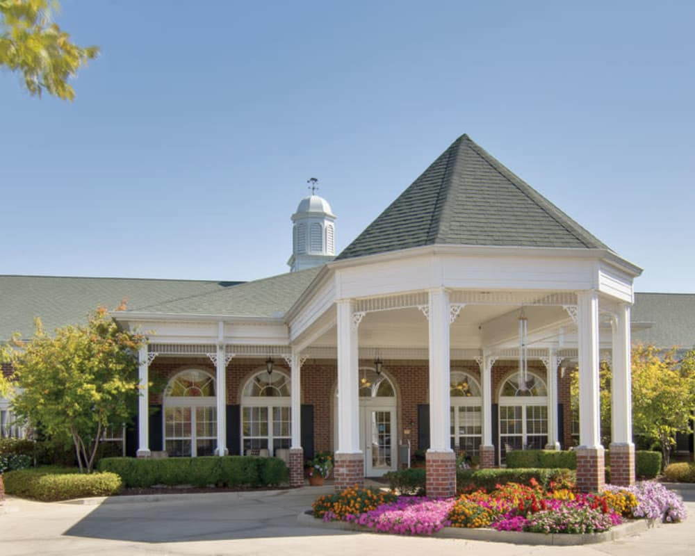 Front entrance at Tiger Place in Columbia, Missouri