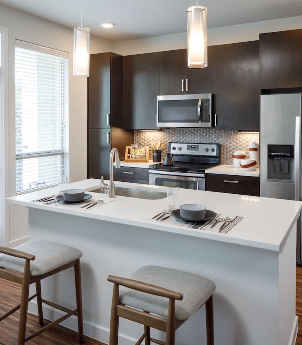 Apartment Features at Ascent Cresta Bella in San Antonio, Texas