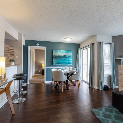 View virtual tour for 2 bedroom 2 bathroom home at The Gallery at Katy in Katy, Texas