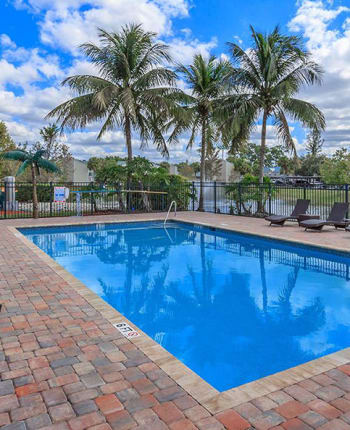 Swimming pool at The Coast of Naples Florida