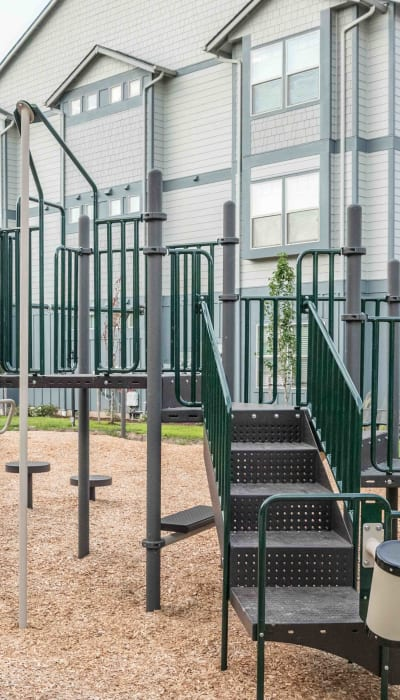 Playground at Keizer Station Apartments in Keizer, Oregon