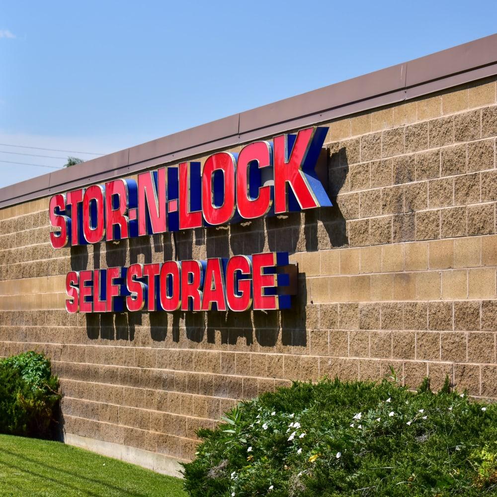 The front door at STOR-N-LOCK Self Storage in Taylorsville, Utah