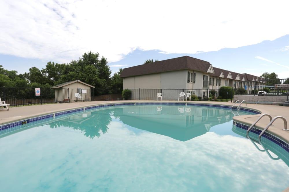 Swimming pool at Garland Square in Norman, Oklahoma