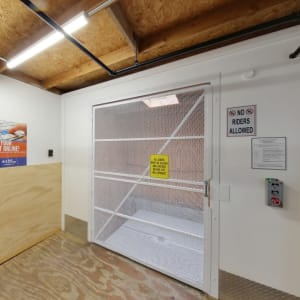 Freight elevator at A-1 Self Storage