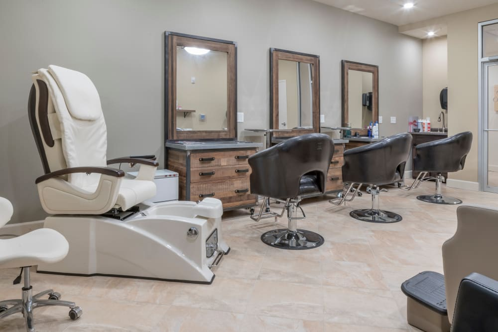 Salon at Merrill Gardens at ChampionsGate in ChampionsGate, Florida.