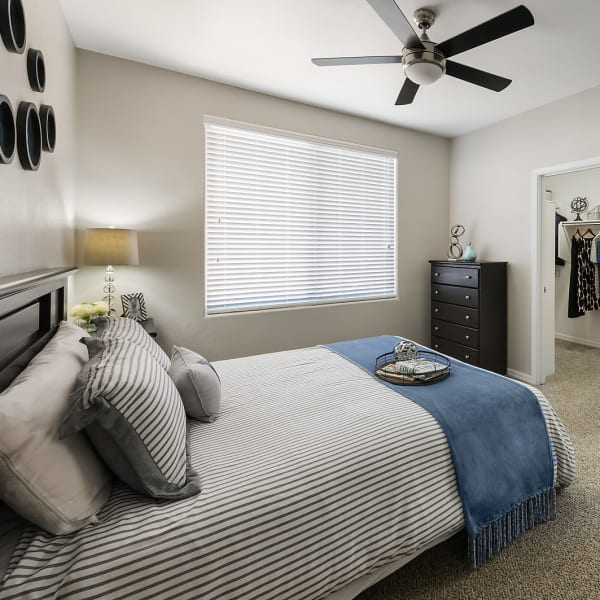 Spacious master bedroom at Laguna at Arrowhead Ranch in Glendale, Arizona