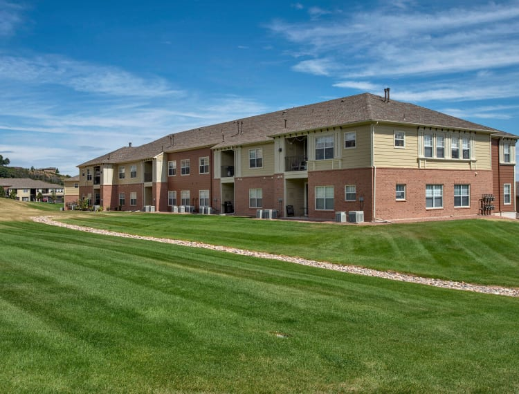 Apartment buildings at Retreat at Cheyenne Mountain Apartments in Colorado Springs