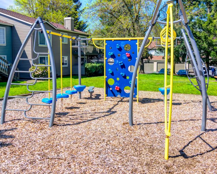 Onsite children's playground at Sofi at Murrayhill in Beaverton, Oregon