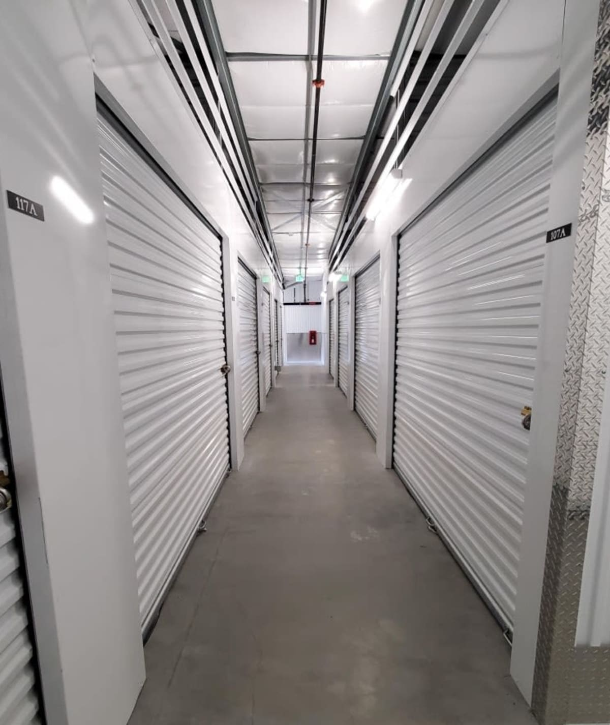 Temperature controlled units at Cascade Self Storage in Grants Pass, Oregon