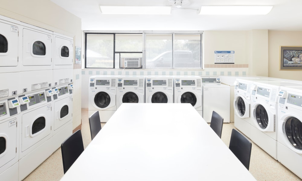 Laundry center available at Applewood on the Park in Mississauga, Ontario
