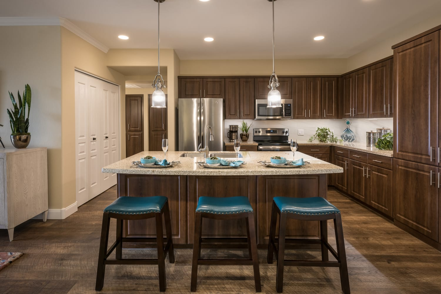 One Bedroom Kitchen San Valencia in Chandler, Arizona