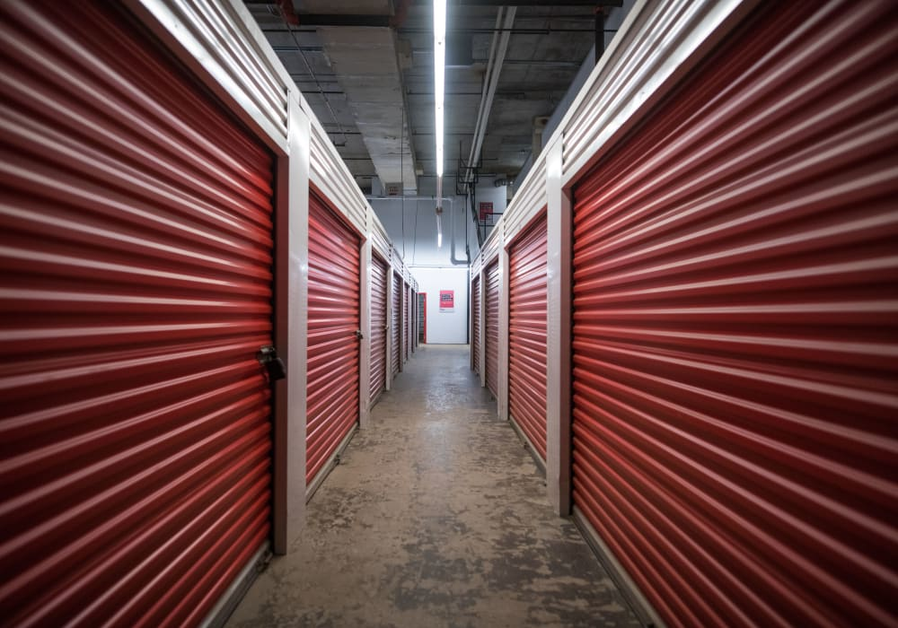 Interior units at Apple Self Storage - Halifax Westend in Halifax, Nova Scotia