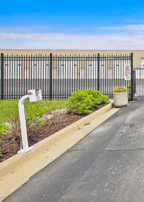 24-Hour Electronic Gate Access at Global Self Storage in McCordsville, Indiana