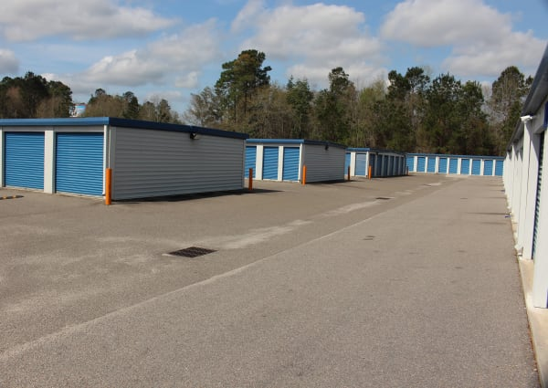 Units at Monster Self Storage in Walterboro, South Carolina