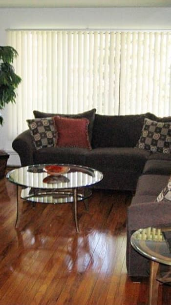 Ann Arbor Woods Apartments offers beautiful living room in Ann Arbor, Michigan