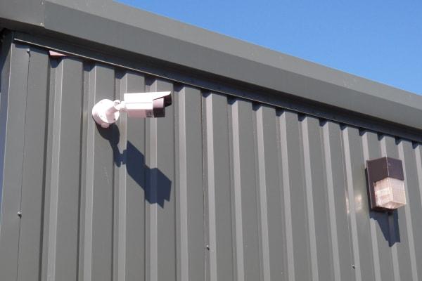 Security cameras at Breezy Hill Self Storage in Graniteville, South Carolina