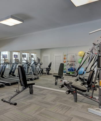 Work out facility in Villa Broussard in Broussard, LA.