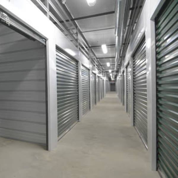 Interior storage units at StayLock Storage in Valdosta, Georgia