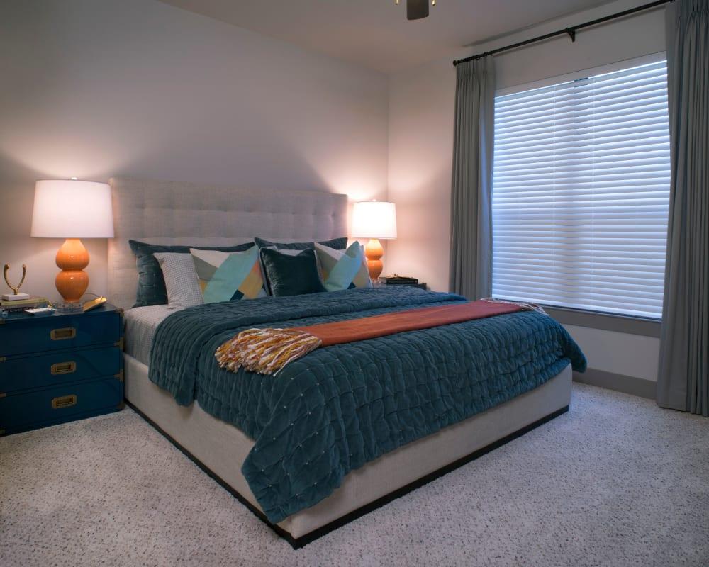Large bedroom at Savannah Oaks in San Antonio, Texas.