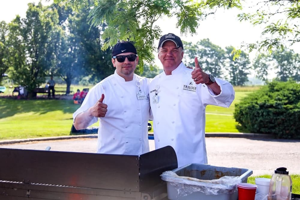 Chefs at Trilogy Health Services