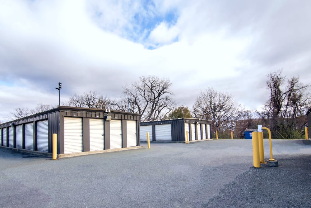 Ground-level units at Prime Storage in Green Island, NY