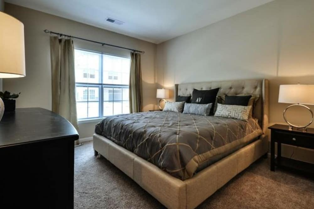 Bedroom at Arbor Village in Summerville, South Carolina