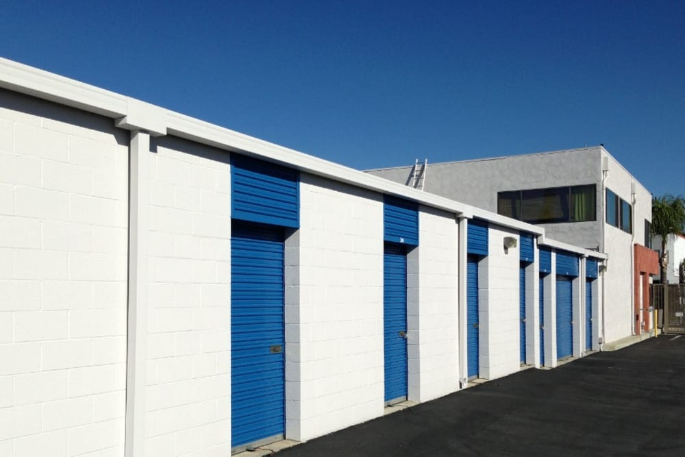 Outdoor Storage Units at Storage Etc... Pomona