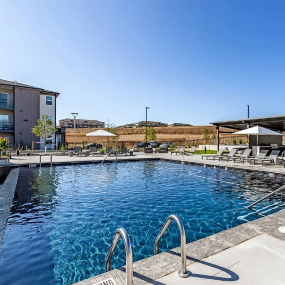 The Wyatt Apartments's pool in Fort Collins, Colorado