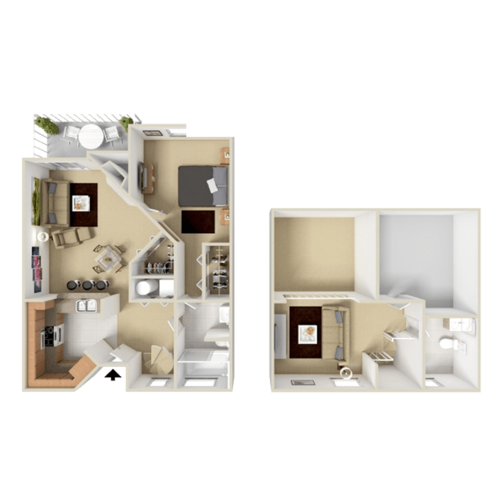 1 Bedroom apartment in Westminster, Colorado