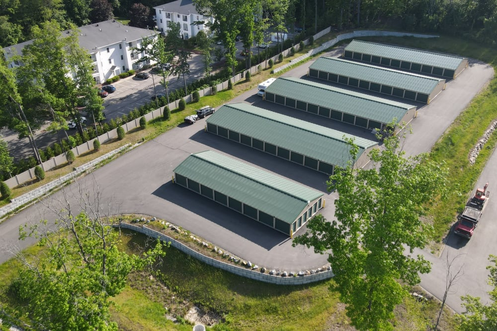 Facility with lots of greenery at 603 Storage - East Milford in Milford, New Hampshire