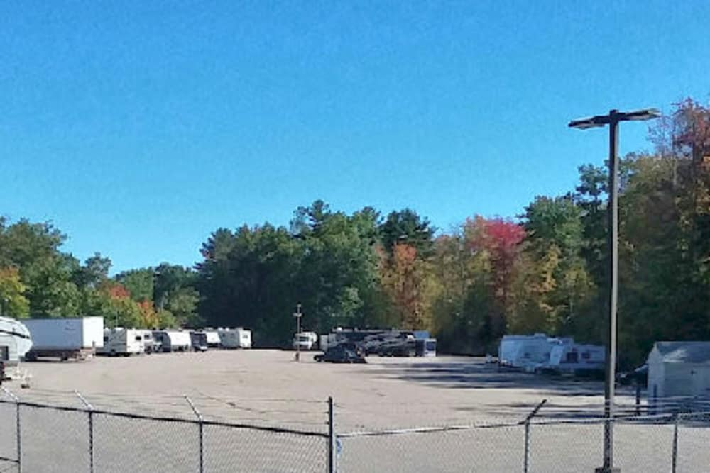 Parking storage available at Prime Storage in Wells, ME
