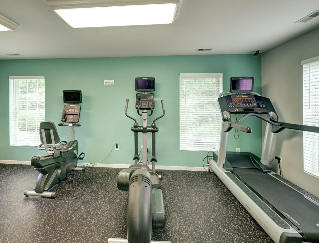 Aston Ridge Apartments fitness center in Richmond, VA