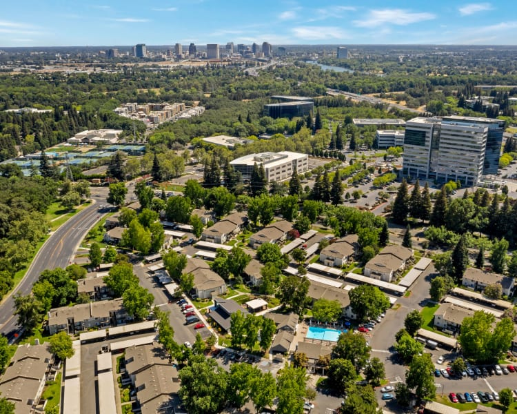 Click to see our photos at The Woodlands Apartments in Sacramento, California