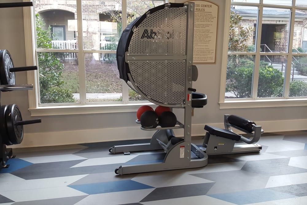 Carrington Park Apartments fitness center