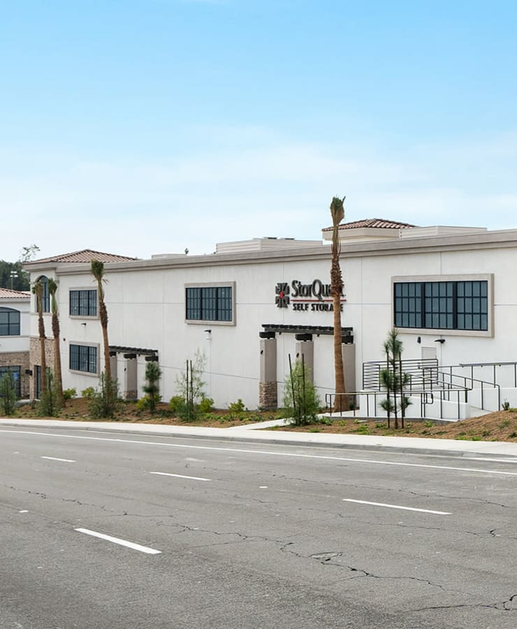Facility exterior at StorQuest Self Storage in Naples, Florida