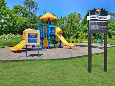 Beautiful playground at Glen Ellen Apartment Homes in Long Branch, NJ