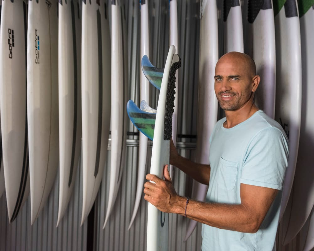 Kelly Slater Partners with StorQuest Self Storage as an Ambassador