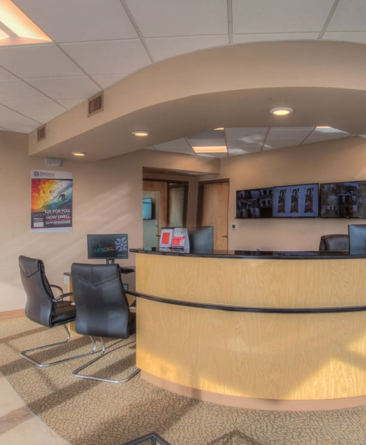 Interior of the office at StorQuest Self Storage in Greenwood Village, Colorado