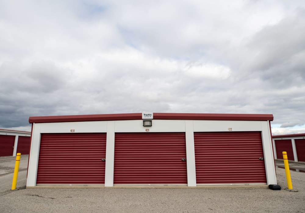 Large loading doors at Apple Self Storage - East Gwillimbury in East Gwillimbury, Ontario