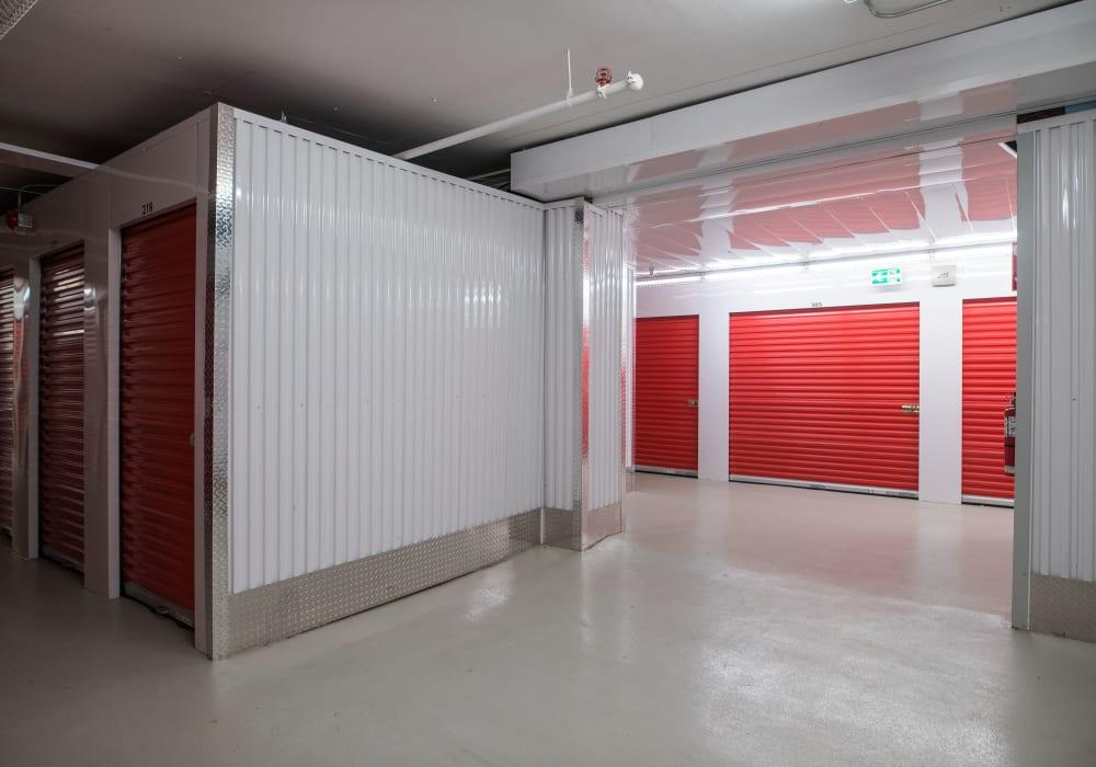 Interior units at Apple Self Storage - Saint John North in Saint John, New Brunswick