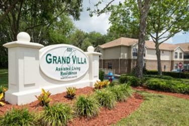 Welcome Sign at Grand Villa of Ormond Beach in Ormond Beach, FL