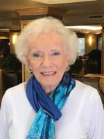 Maxine, resident at Merrill Gardens at Bankers Hill in San Diego, California.