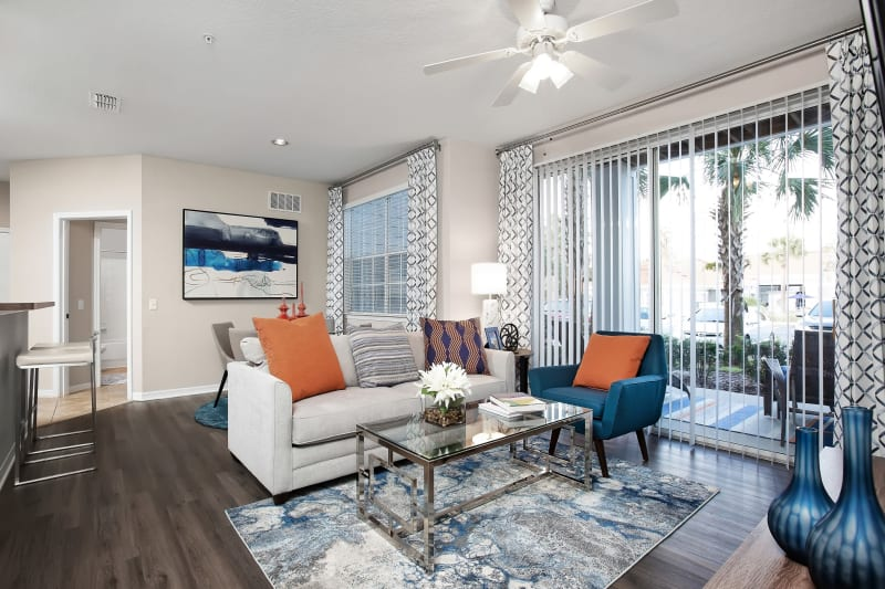Beautiful open concept floor plan at The Aspect in Kissimmee, Florida