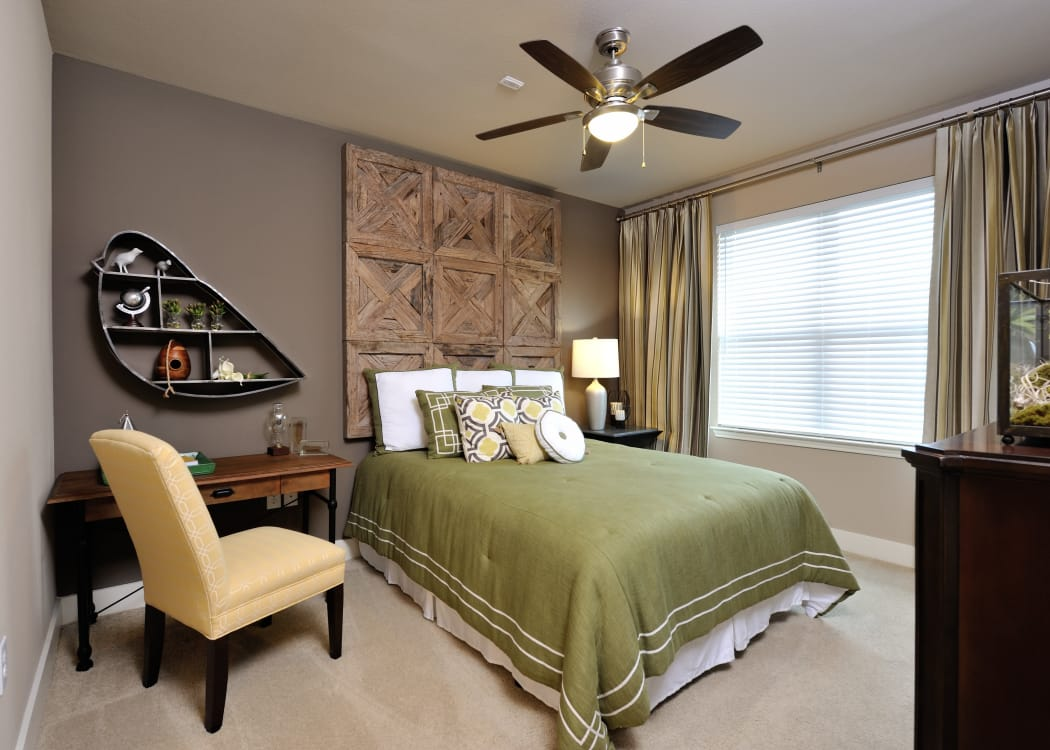 Beautiful bedroom at Grand Reserve Katy in Katy, Texas