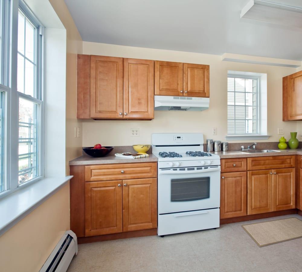 Apartment features at Markham Gardens in Staten Island, New York